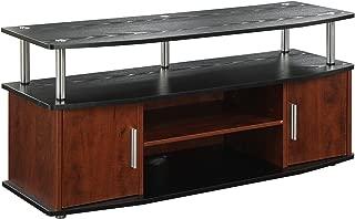 Convenience Concepts Designs2Go Monterey TV Stand, Cherry Black