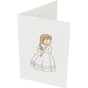 Mopec X740 Portafotos con Marco niña comunión Libro, Pack de 25, Cartulina, Multicolor, 11. 5 x 17 cm: Amazon.es: Hogar