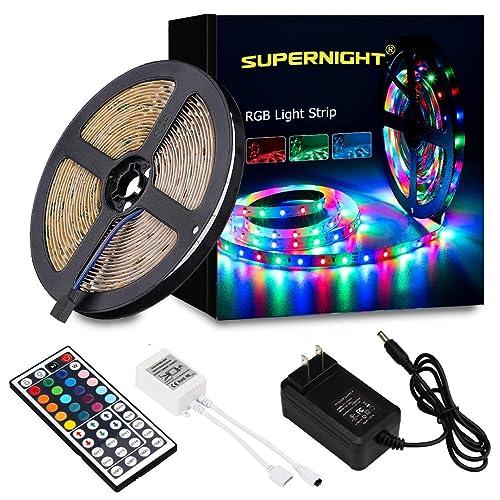 LED Light Strip with Remote: Amazon com