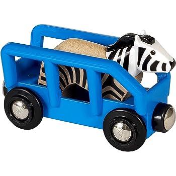 BRIO Bahn 33967 - Tierwaggon Zebra