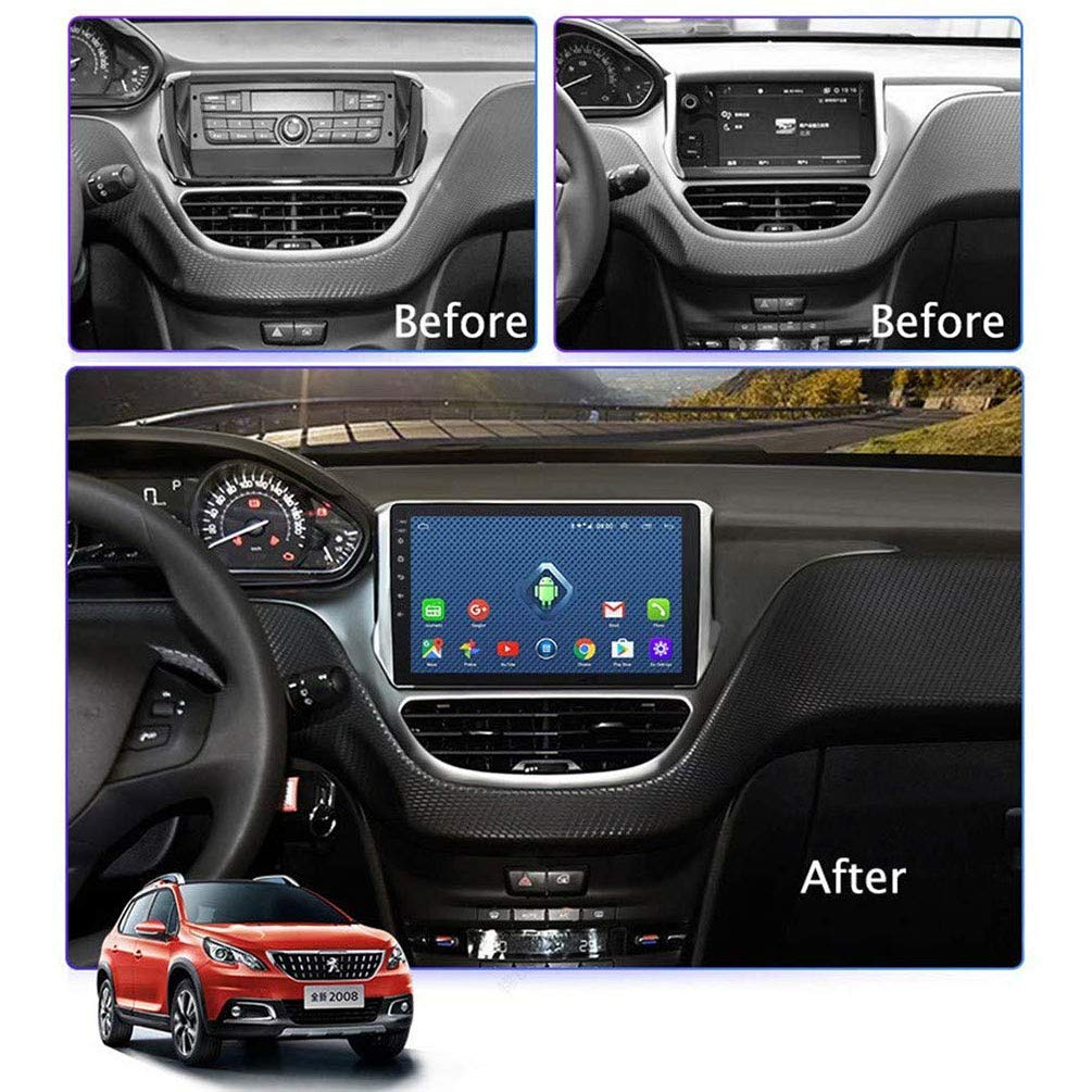 10.1 Pulgadas 4G Lte All Netcomm Android 8.0 Car GPS Multimedia, Para Peugeot 2008 208 Series 2015-2018 Navigation Player,4g+wifi: 2+32g: Amazon.es: Coche y moto