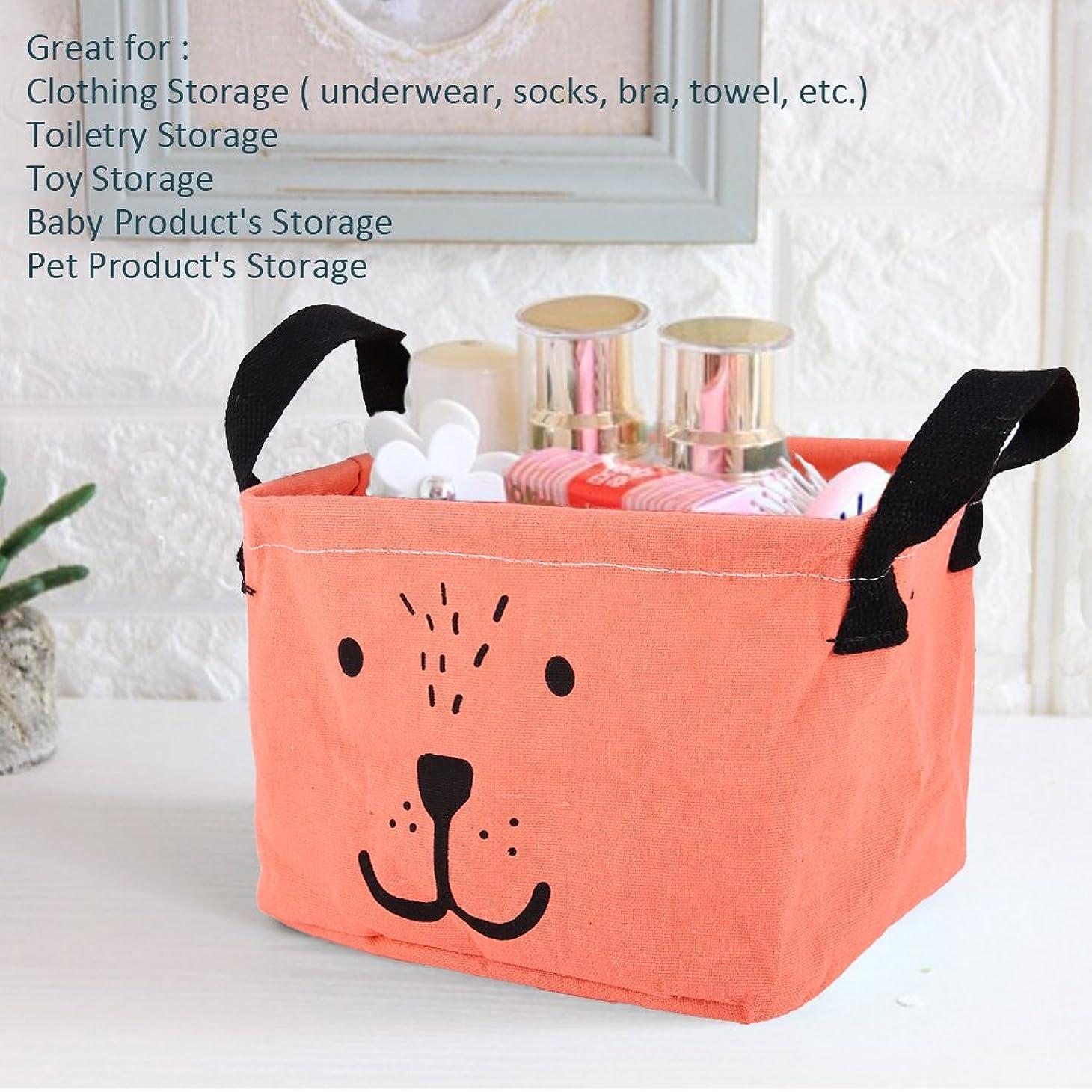 有効化苦侮辱(Red) - Zehui Organiser Dirty Clothes Storage Sorter 18L Laundry Linen Bag for Office Bedroom Closet Toys Cartoon Household Foldable Storage Basket or Bin Desk Makeup Red