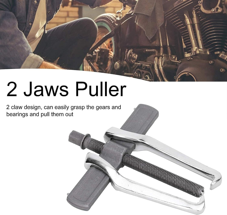 4 inch utensili per la rimozione di riparazioni meccaniche puleggia e volano per riparazioni auto Estrattore a 2 griffe Filettatura a forma di T antiscivolo per ingranaggi