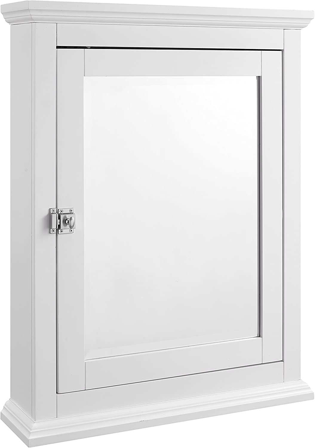 Linon Bathroom Medicine Cabinet Manufacturer direct delivery White Flush with M Crown Minneapolis Mall Molding