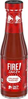 Taco Bell Fire Sauce, 7.5 oz Bottle (Pack of 12)