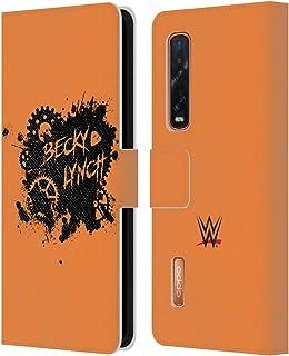オフィシャル WWE Becky Lynch Relent-lass スーパースター 9 Oppo Find X2 Pro 5G 専用レザーブックウォレット カバーケース