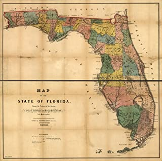Best 1856 map of florida Reviews