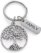 family tree keyring
