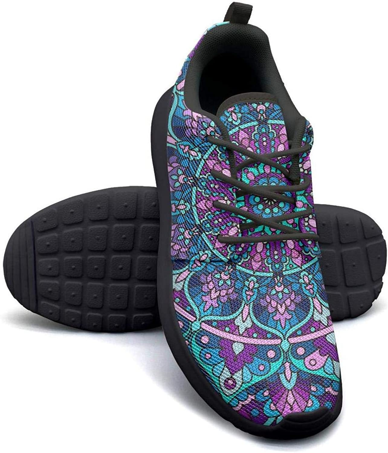 Vosda Purple Design Running shoes Lightweight for Women Sneaker Lace-up Quick Dry shoes
