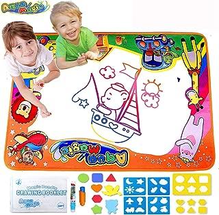 Aqua Magic Mat, Bwealth Water Doodle Mat - Kids Toys Large Water Drawing Mat (34.6