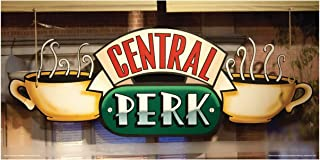 Culturenik Friends Central Perk Cafe Window Coffee Cup Logo TV Television Show Poster Print 12 by 24