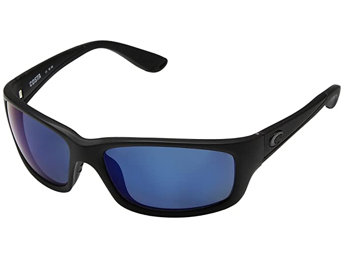 Costa  Jose (Blackout Frame/Blue Mirror 580P) Fashion Sunglasses
