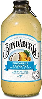 Bundaberg Pineapple and Coconut Sparkling Drink, 12 x 375 Milliliters