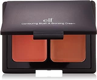 e.l.f. Contouring Blush and Bronzing Cream, St. Lucia, 0.34 Ounce
