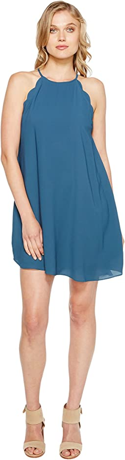Brigitte Bailey - Denyse Spaghetti Strap Scalloped Dress