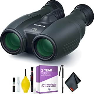 Canon 12x32 is Image Stabilized Binocular + Cleaning Kit Essential Accessories Bundle