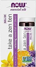 Now Foods Essential Oils Take a Zen Ten Roll On 10 ml, 10 milliliters