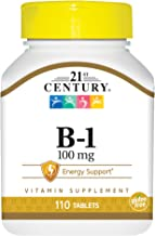 21st Century B-1 100mg Tablets, 110-Count