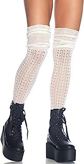 Leg Avenue Women's Pointelle Scrunch Knee Socks