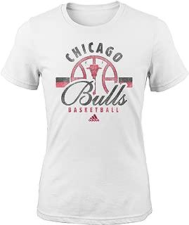 NBA Girls Classic Basketball Arch Short Sleeve Tee