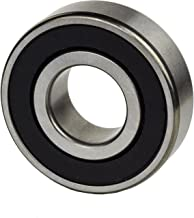 Jeremywell BR-6000-2RS-4PCS Ball Bearing, 10x26x8 mm Rubber Sealed Deep Groove (Pack of 4)
