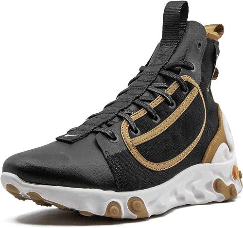 Nike Men's React Ianga Black/Wheat/Phantom/White AV5555-001