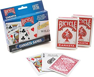(3-Pack) - Bicycle Canasta Games Playing Cards (3-Pack)