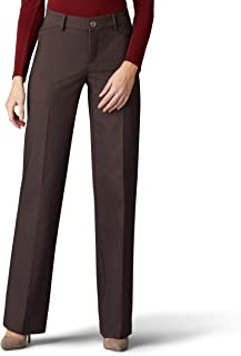 Lee womens Flex Motion Regular Fit Trouser Pant Pants