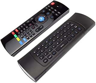 MX3-M 2.4G Wireless Keyboard Mouse Wireless Remote Control with Build In Mic for Android TV Box