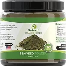 Seaweed Powder – 100% Organic Kelp Powder - Cellulite Treatment - Fresh Norwegian Ascophyllum Nodosum - FREE Recipes Included – Perfect For Body Wraps, Scrubs, Facials - 1lb