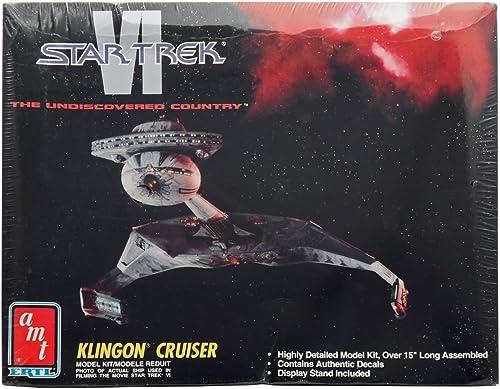 100% precio garantizado AMT STAR TREK VI KLINGON KLINGON KLINGON CRUISER by AMT Ertl  al precio mas bajo