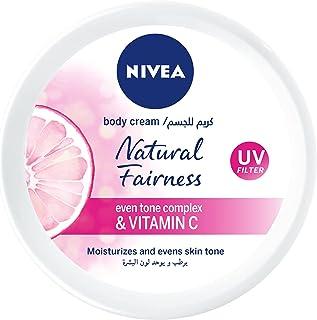 Nivea Natural Fairness Face & Body Cream, 50ml