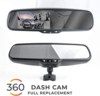 Master Tailgaters OEM Rear View Mirror with Ultra Bright 4.5
