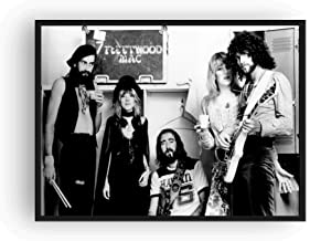 Fleetwood Mac Poster 13x19 Quality Black And White Print Rumors