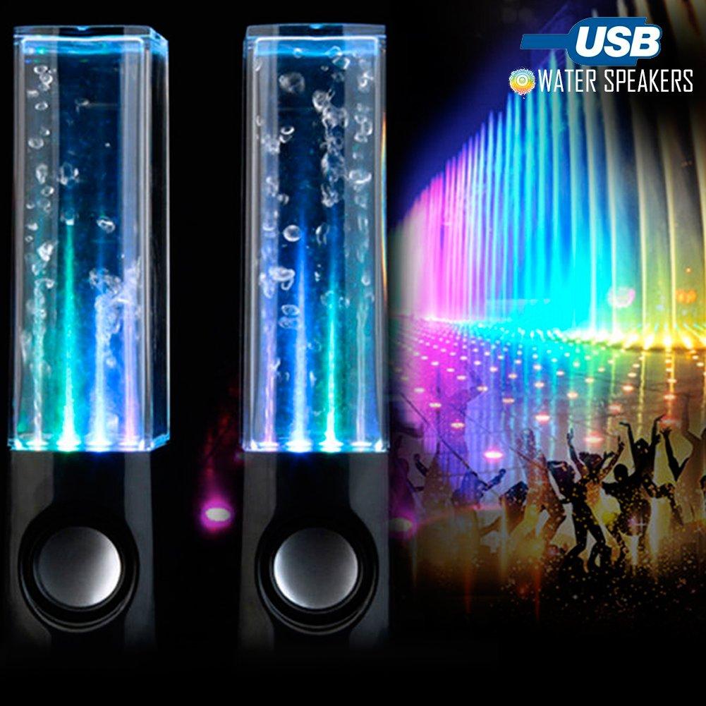 BAKAJI Water Dancing Soundbar Altavoces Altavoces para PC ...