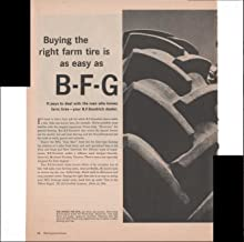 B.F. Goodrich Tractor Tires Farm 2 Pg 1960 Antique Automobile Advertisement