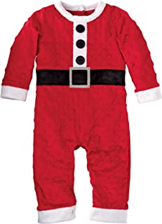 Mud Pie Baby-Boys Newborn Santa One Piece