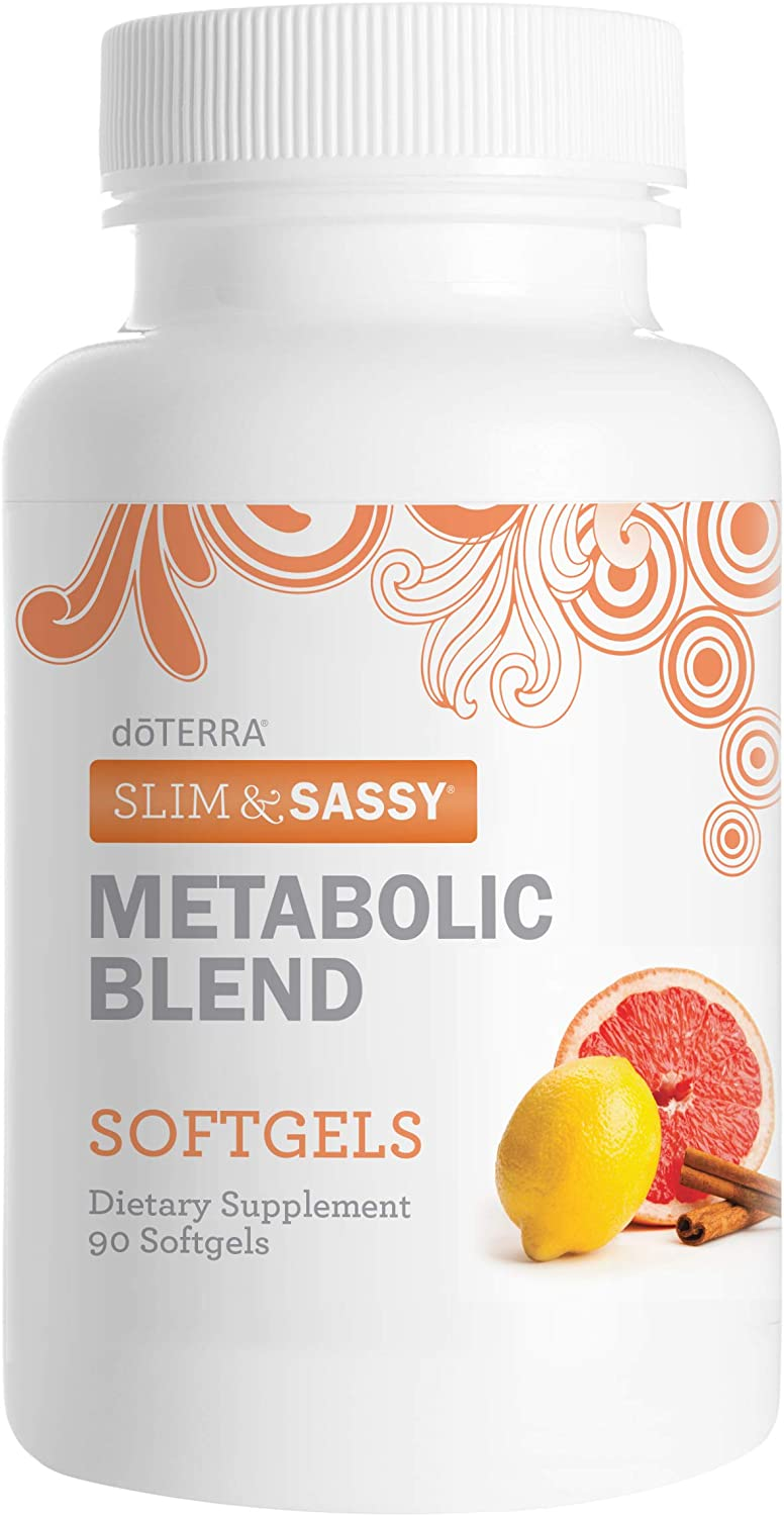 doTERRA Spring new work one after another Slim Sassy Essential Oil Blend 90 c Gorgeous Metabolic Softgels