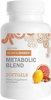 doTERRA Slim & Sassy Essential Oil Metabolic Blend Softgels 90 ct