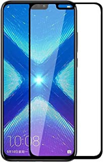Huawei Y8s Screen Protector Glass Full Glue Protector for Mobile Screen Guard Anti-Scratch & Anti-Explosion 9D Tempered Gl...