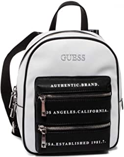Guess Womens Backpack, White Multi - VL767432