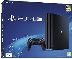 جهاز تشعيل الالعاب سوني Playstation 4 Pro سعة 1 تيرا (اسود)