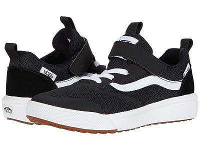 Vans Kids UltraRange Rapidweld (Little Kid) (Black/True White) Boys Shoes