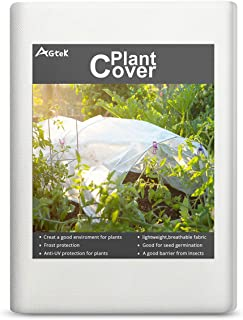 AGTEK Floating Row Covers 0.6oz 7x30 FT Plant Covers for Frost Protection & Seed Germination