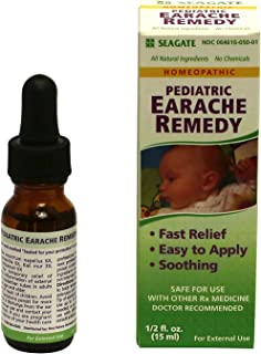 Seagate Products Homeopathic Pediatric Olive Leaf Earache Remedy 0.5 oz