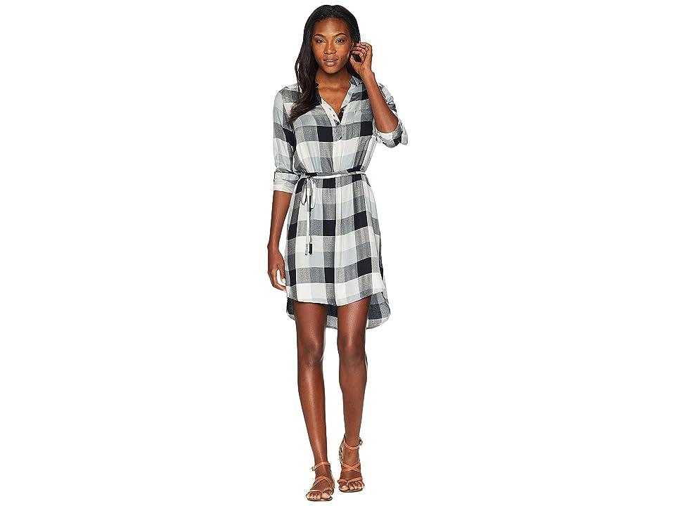 Mountain Khakis Josie Dress (Black Plaid) Women