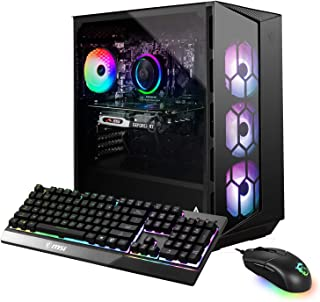 MSI Aegis R 10TD-068US (i7-10700, 16GB RAM, 512GB SATA SSD + 1TB HDD, RTX 3070 8GB, Windows 10) Gaming Desktop
