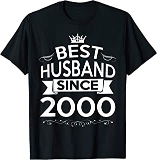 Mens 19th Wedding Anniversary Gifts For Husband Ideas For Men Him T-Shirt