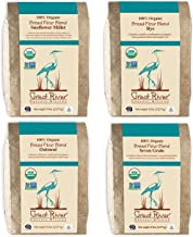 product image for Great River Organic Milling, Bread Flour Blends, 4 Pack - Variety Pack, Oatmeal, Rye, Sunflower Millet, Seven Grain, Organic, 5-Pounds (Pack of 4)
