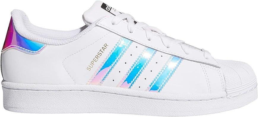 adidas Superstar, Sneakers Basses Femme.g0 (38 EU, blac/Iris/1g0 ...